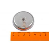 Магнитное крепление со сквозной внутренней резьбой Н25 (М5) - Магнитное крепление со сквозной внутренней резьбой Н42 (М6)
