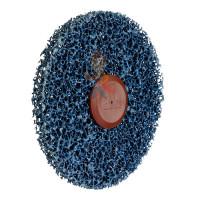 Круг лепестковый торцевой конический 566A  P60, 125 мм х 22 мм - Шлифовальный круг Scotch-Brite™ Clean and Strip CG-DС, S XCS, голубой, 150 мм х 13 мм, 61122