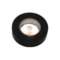 Изолента ПВХ, набор из 10 шт 15 мм x 10 м, TEMFLEX 1300 KIT 15MM - ПВХ изолента универсальная, черная, 15 мм x 10 м
