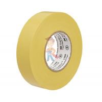 Изолента самослипающаяся силиконовая Scotch® 70, рулон 25 мм х 9 м - ПВХ изолента универсальная, желтая, 15 мм x 10 м