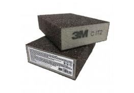 Губка четырехсторонняя, CRS, мягкая, 96 мм х 66 мм х 25 мм, 63220