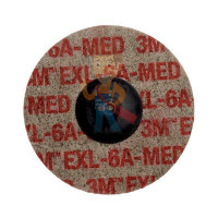 Круг лепестковый торцевой конический 566A  P40, 125 мм х 22 мм - Шлифовальный круг Scotch-Brite™ Roloc™ XL-UR, 6A MED, 75 мм, 17191