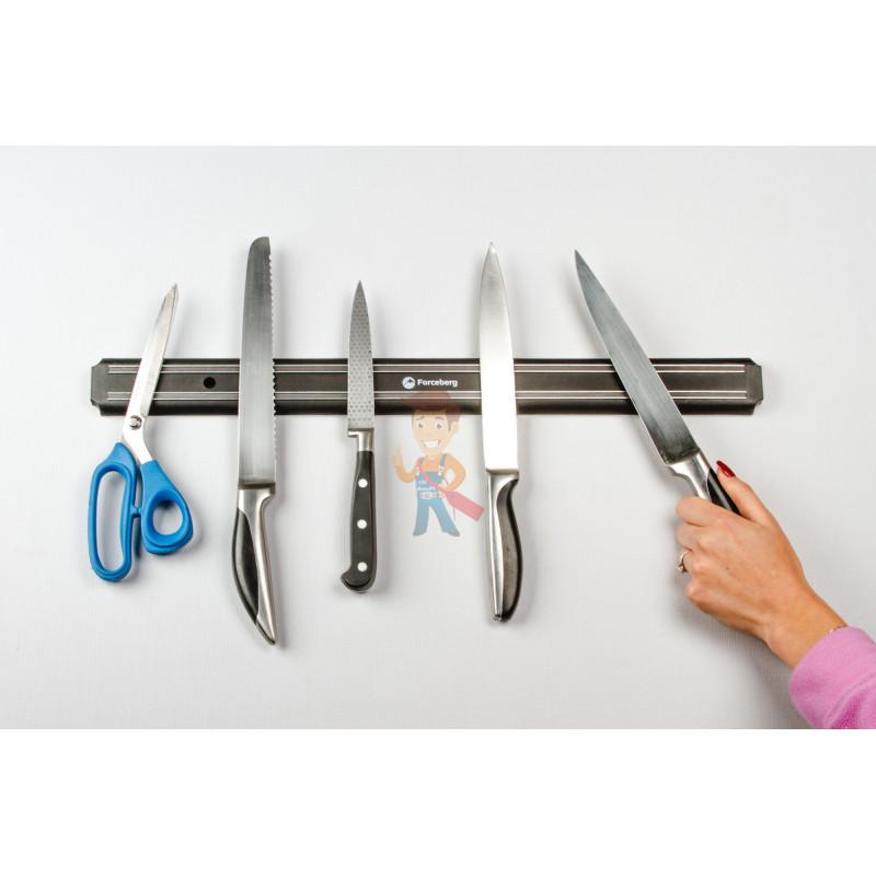 Магнитный держатель для ножей Forceberg 555 мм - фото 7