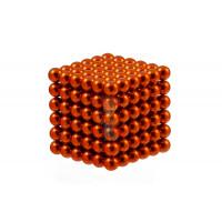 Forceberg Cube - куб из магнитных шариков 5 мм, светящийся в темноте, 216 элементов - Forceberg Cube - куб из магнитных шариков 6 мм, оранжевый, 216 элементов