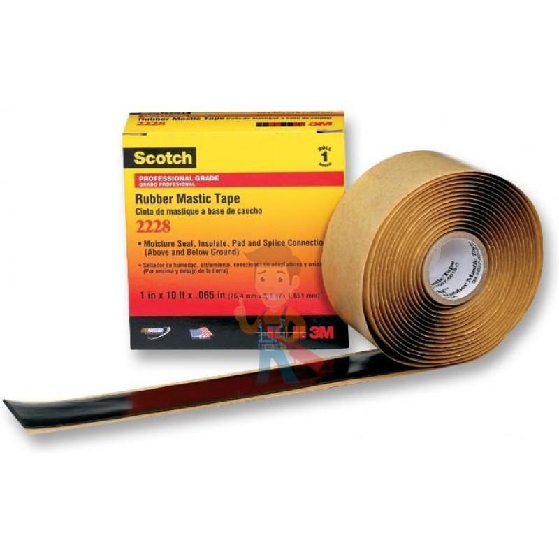 Изолента резиново-мастичная Scotch® 2228, 50 мм х 3 м - фото 1