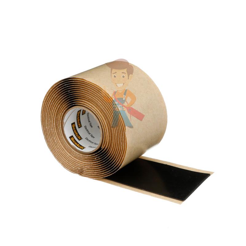 Изолента резиново-мастичная Scotch® 2228, 50 мм х 3 м - фото 4