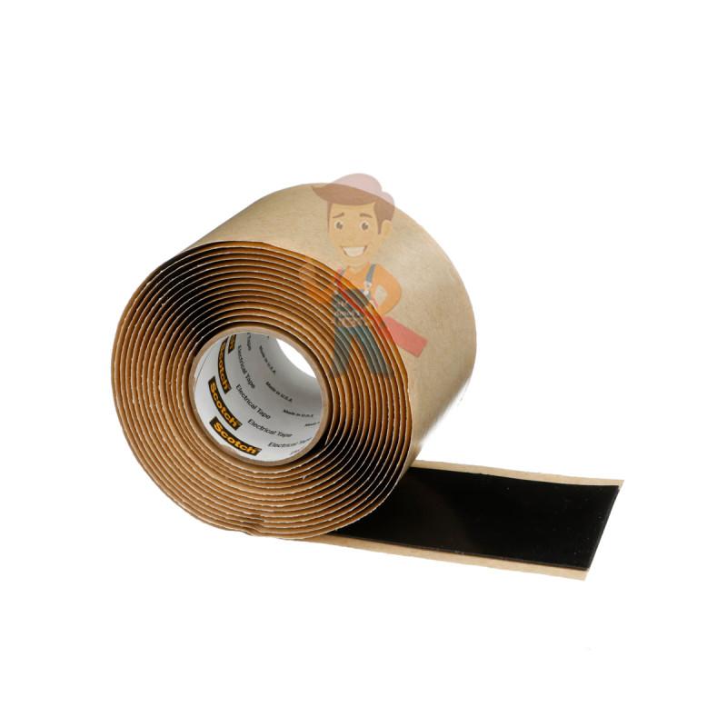 Изолента резиново-мастичная Scotch® 2228, 50 мм х 3 м - фото 3