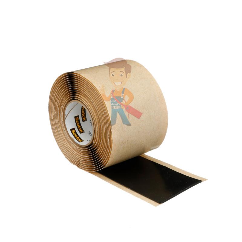 Изолента резиново-мастичная Scotch® 2228, 50 мм х 3 м - фото 5