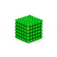 Forceberg Cube - Куб из магнитных шариков 10 мм, золотой, 125 элементов - Forceberg Cube - куб из магнитных шариков 5 мм, светящийся в темноте, 216 элементов