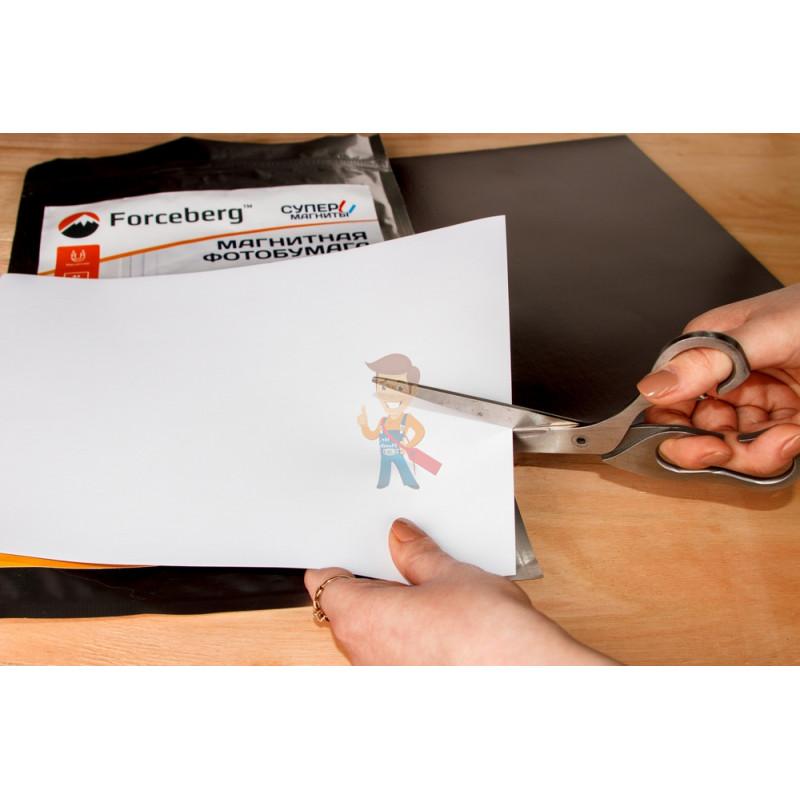 Магнитная бумага А4 матовая Forceberg 3 листа - фото 7