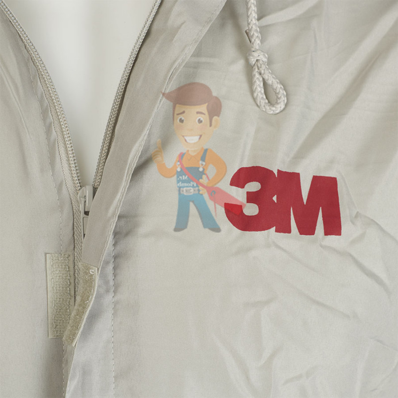 Комбинезон для малярных работ многоразовый, размер M - фото 3