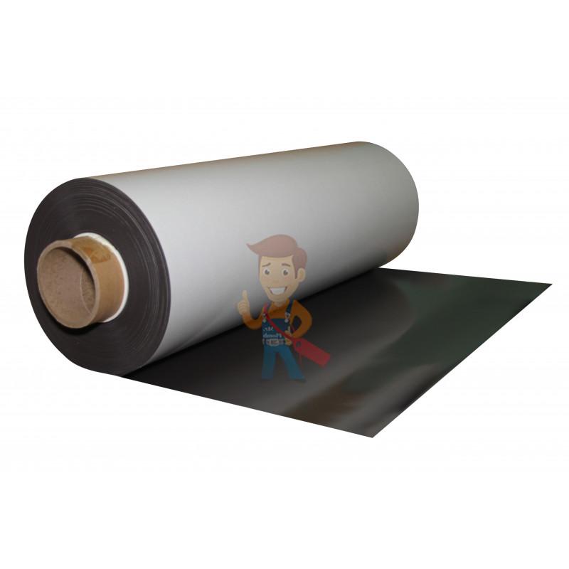Магнитный винил с клеевым слоем, рулон 0.62х30 м, толщина 0.7 мм