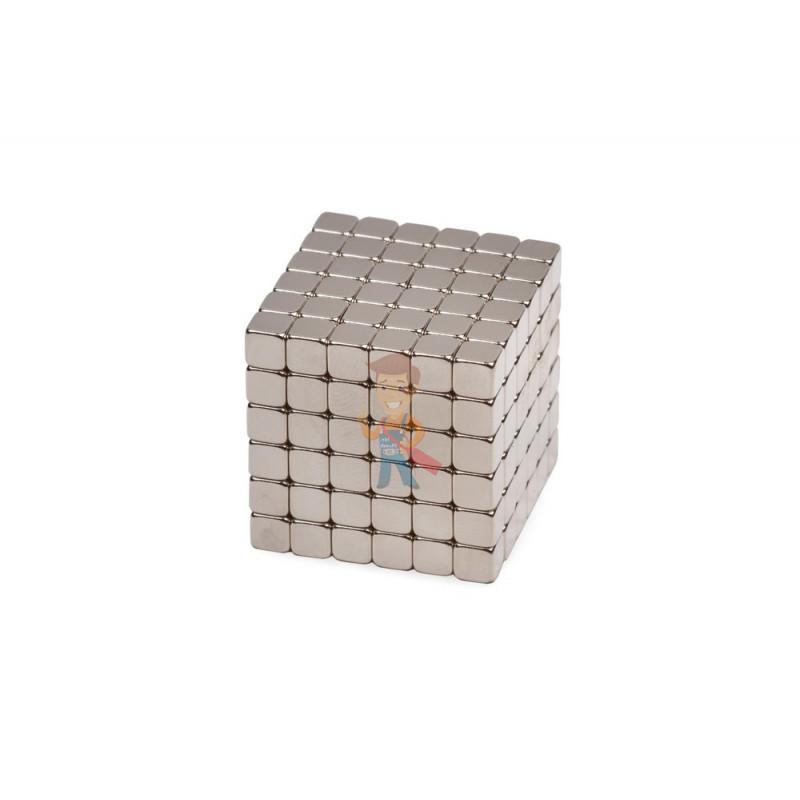 Forceberg TetraCube - куб из магнитных кубиков 6 мм, стальной, 216 элементов