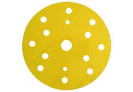 Круг абразивный 255P+, золотой, 15 отв, Р320, 150 мм, 3M™ Hookit™