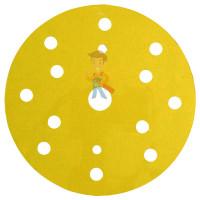 Круг Абразивный, золотой, 15 отверстий, Р400, 150 мм,3M™ Hookit™ 255P+, 10 шт/уп - Круг абразивный 255P+, золотой, 15 отв, Р80, 150 мм, 3M™ Hookit™