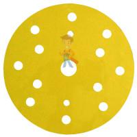 Круг Абразивный, золотой, 15 отверстий, Р320, 150 мм,3M™ Hookit™ 255P+, 10 шт/уп - Круг абразивный 255P+, золотой, 15 отв, Р180, 150 мм, 3M™ Hookit™