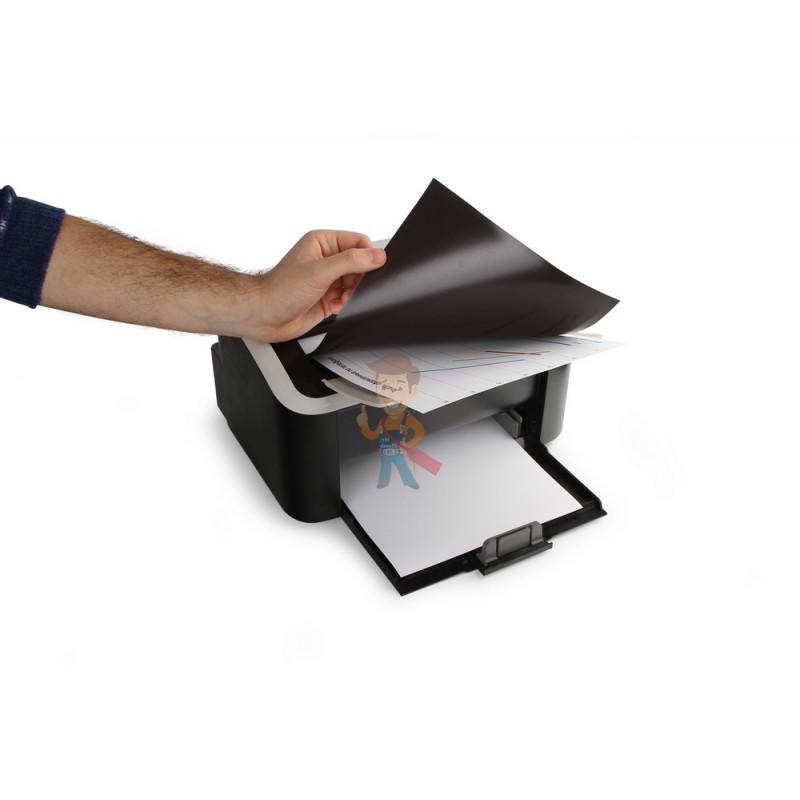 Магнитная бумага А4 матовая Forceberg 5 листов - фото 3