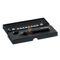 Магнитная ручка Forceberg, золотая - Магнитная ручка Forceberg черная