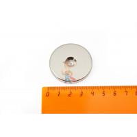 Магнитное крепление с отверстием В25 - Неодимовый магнит диск 40х5 мм с зенковкой 5/10 мм
