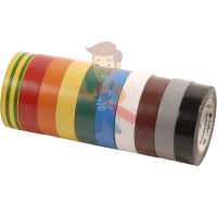 Изолента самослипающаяся силиконовая Scotch® 70, рулон 25 мм х 9 м - Изолента ПВХ, набор из 10 шт 15 мм x 10 м, TEMFLEX 1300 KIT 15MM