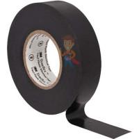 Изолента самослипающаяся силиконовая Scotch® 70, рулон 25 мм х 9 м - ПВХ изолента универсальная, черная, 19 мм x 20 м