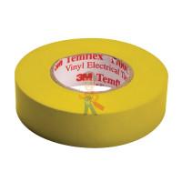 Изолента самослипающаяся силиконовая Scotch® 70, рулон 25 мм х 9 м - ПВХ изолента универсальная, желтая, 19 мм x 20 м