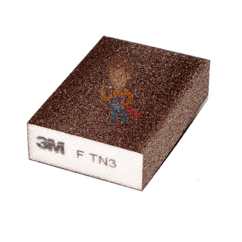 Губка Четырехсторонняя, FIN, жесткая, 96 мм х 66 мм х 25 мм, 5 шт./уп. - фото 4