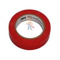 Изолента самослипающаяся силиконовая Scotch® 70, рулон 25 мм х 9 м - ПВХ изолента универсальная, красная, 15 мм x 10 м