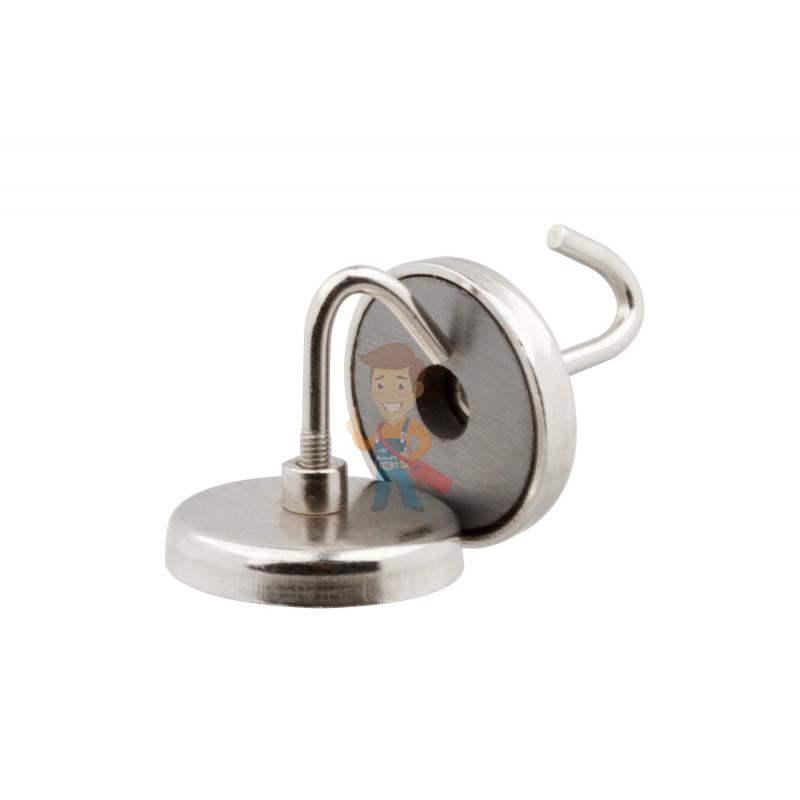 Магнитное крепление с крючком Forceberg 3,75 см, 2 шт - фото 4