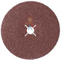 Круг лепестковый торцевой конический 566A  P60, 125 мм х 22 мм - Фибровый шлиф. круг 982С Cubitron™ II, 36+, 180 мм х 22 мм, 3 шт./уп.
