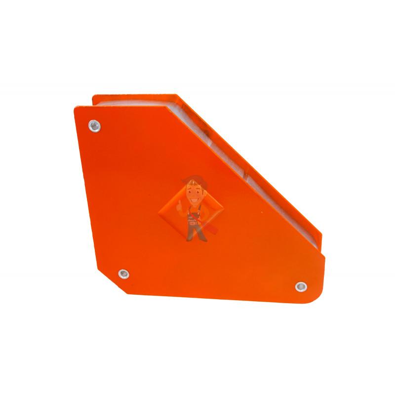 Магнитный уголок для сварки отключаемый для 3-х углов Forceberg, усилие до 24 кг - фото 1