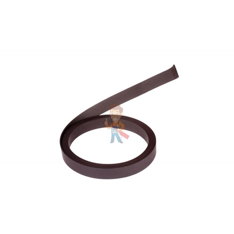 Магнитная лента Forceberg без клеевого слоя 12.7 мм, рулон 1.5 м, тип А - фото 1