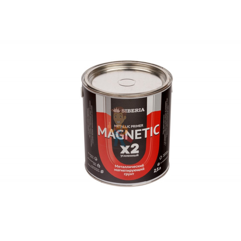 Магнитная краска Siberia 2,5 литра, на 5 м²