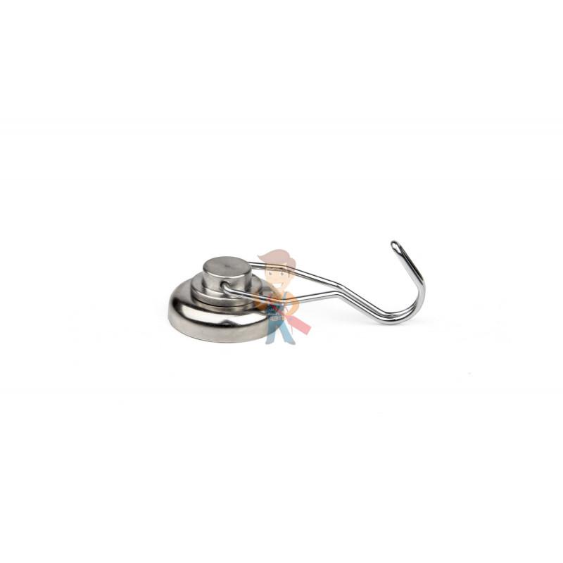 Магнитное крепление с поворотным крючком 36 мм