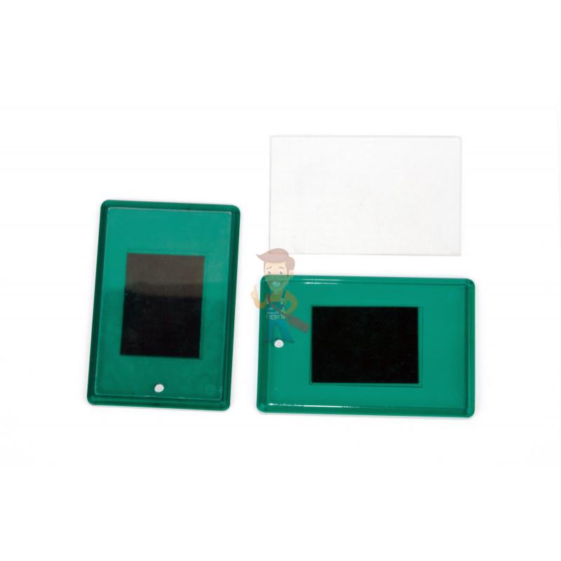 Акриловая заготовка для магнита Forceberg 52х77 мм, зеленая, 10 шт. - фото 1