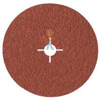 Лист шлифовальный для чистовой обработки поверхности S UFN светло-серый 158 мм х 224мм - Фибровый шлиф. круг 987С Cubitron™ II, 36+, 180 мм х 22 мм, 3 шт./уп.