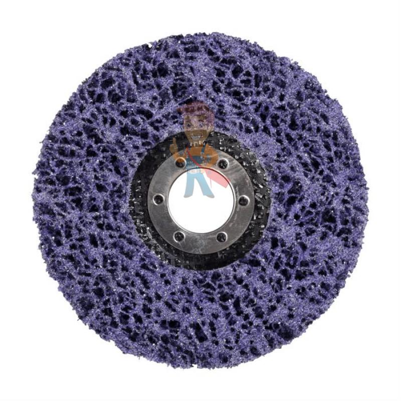 Круг для очистки поверхности XT-RD, S XCS, фиолетовый, 115 мм х 22 мм (замена 51889) - фото 1