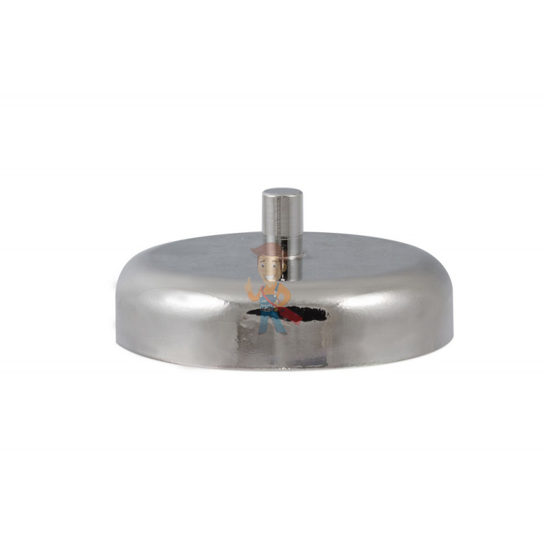 Магнитное крепление D60 со стержнем - подставка на магните для топпера, ценников, рамок, плакатов