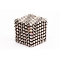 Forceberg Cube - куб из магнитных шариков 2,5 мм, стальной, 512 элементов - Forceberg Cube - куб из магнитных шариков 2,5 мм, стальной, 512 элементов