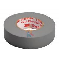 Изолента резиново-мастичная Scotch® 2228, 50 мм х 3 м - ПВХ изолента универсальная, серая, 15 мм x 10 м