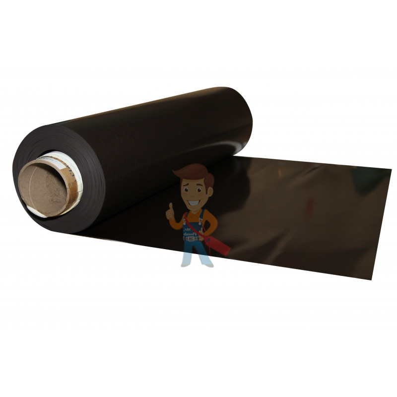 Магнитный винил без клеевого слоя, рулон 0.62х30 м, толщина 0.4 мм