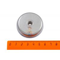 Магнитное крепление со сквозной внутренней резьбой Н25 (М5) - Магнитное крепление со сквозной внутренней резьбой Н48 (М8)