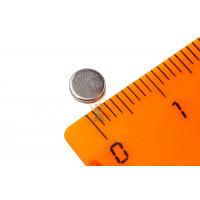 Магнитное крепление с отверстием А36 - Неодимовый магнит диск 5х1 мм, N52