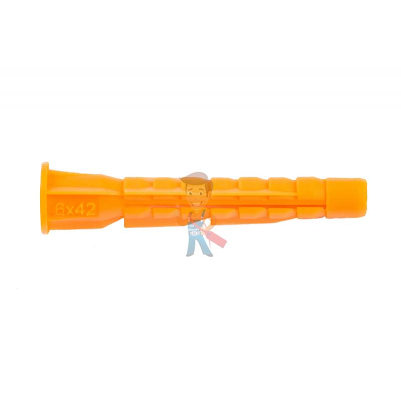 Дюбель универсальный Forceberg Home&DIY (тип U) 6х42 мм, для кирпича, газобетона, гипсокартона, 30 шт - фото 1
