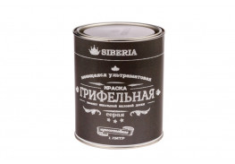 Грифельная краска Siberia 1 литр, серый, на 5 м²