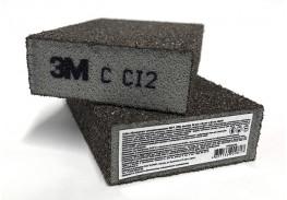Губка четырехсторонняя, CRS, жесткая, 96 х 66 х 25, 63219