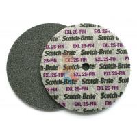 Круг Зачистной  T27, 180 мм х 7,0 мм х 22,23 мм - Шлифовальный круг Scotch-Brite™ XL-UW, 2S FIN, 150 мм х 6 мм х 13 мм, 13741