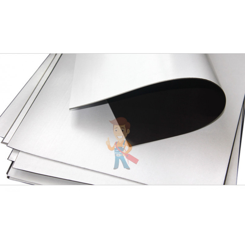 Магнитный винил Forceberg с клеевым слоем 0.62 x 1 м, толщина 0.4 мм - фото 2