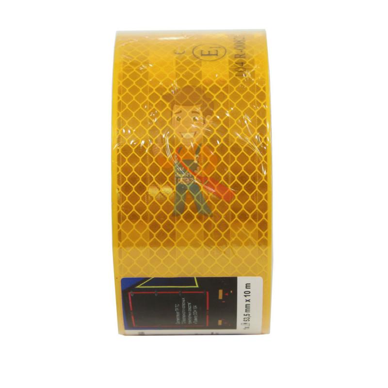 Лента светоотражающая 3M 983-71, алмазного типа, желтая, 53,5 мм х 10 м - фото 4