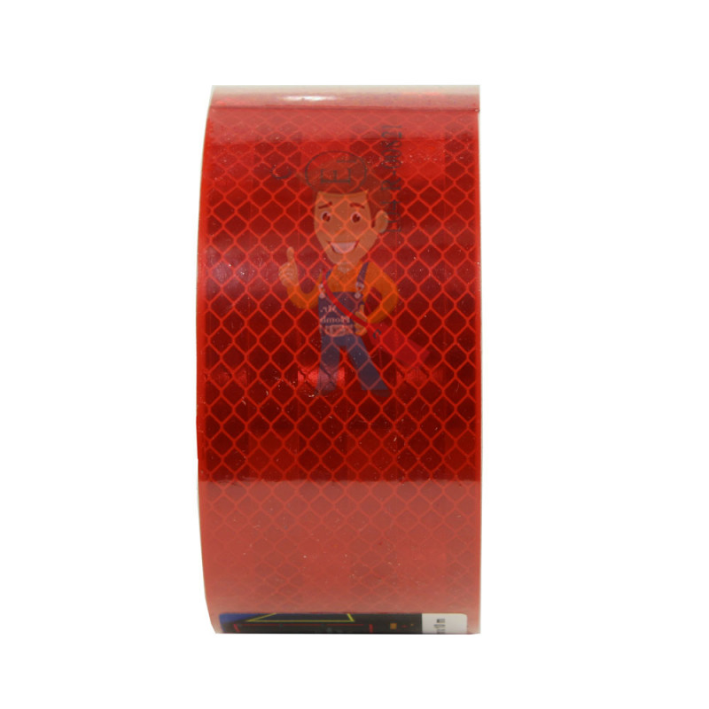 Лента светоотражающая 3M 983-72, алмазного типа, красная, 53,5 мм х 10 м - фото 4